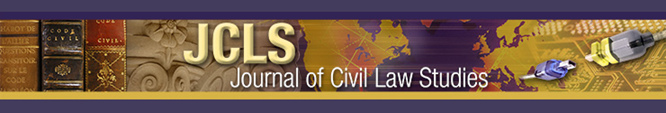 Journal of Civil Law Studies