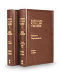 Louisiana Civil Law Treatise: Business Organizations
