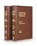 Louisiana Civil Law Treatise: Business Organizations