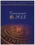 2013 LSU Law Commencement Program