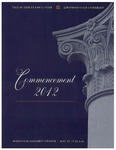 2012 LSU Law Commencement Program by LSU Law