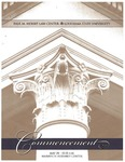 2010 LSU Law Commencement Program