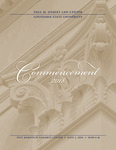 2018 LSU Law Commencement Program by LSU Law