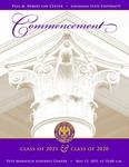 2020 & 2021 LSU Law Commencement Program