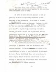 1949 Freshman Convocation by Paul M. Hebert