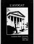 L'Avocat : 1984 by Louisiana State University Law Center