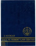 L'Avocat : 1985 by Louisiana State University Law Center