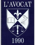 L'Avocat : 1990 by Louisiana State University Law Center