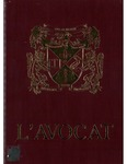 L'Avocat : 1991 by Louisiana State University Law Center
