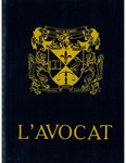 L'Avocat : 1992 by Louisiana State University Law Center