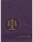 L'Avocat : 1981 by Louisiana State University Law Center