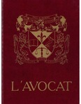 L'Avocat : 1987 by Louisiana State University Law Center