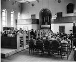 Prison chapel by OMGUS Military Tribunal