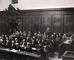 Walter Duerrfeld pleads by OMGUS Military Tribunal
