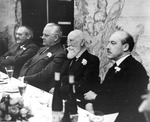 Pre-War dinner for I.G. Farben directors by OMGUS Military Tribunal