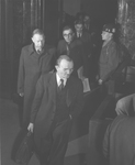 I.G. Farben directors enter the courtroom